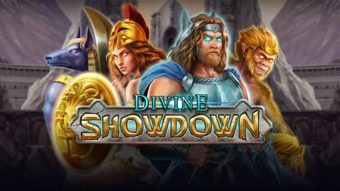 divine showdown slot playat